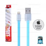 REMAX Cable iPhone5/6 (1M,V2)Pudding Blue
