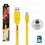REMAX Cable Micro 1M (Yellow) Full Speed
