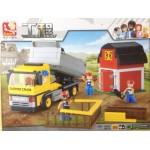Sluban 0552 Dumper Truck 384PCS