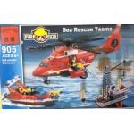 Enlighten 905 Fire Rescue Sea Rescue Teams 6+ 404PCS