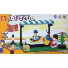 Wange 26142 Pizzcria 107PCS