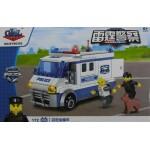 Gao Bo Le 98302 Thunder Police 172PCS