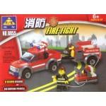 Kazi 8005 Fire Fight 143PCS