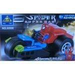 Kazi 6006 Spiderman Superman Storm 42PCS