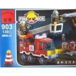 Enlighten 903 Fire Rescue 130PCS