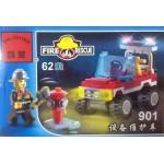 Enlighten 901 Fire Rescue 62PCS