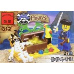 Enlighten 312 Pirates 27PCS