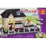 Wange 34051 Creation Villa 909PCS