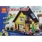 Wange 32052 Creation Villa 458PCS