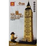 Wange 8014 The Big Ben Of London 1642PCS