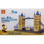 Wange 8013 The Tower Bridge Of London 1033PCS