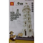 Wange 8012 The Leaning Tower Of Pisa 1392PCS