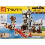 Wange 54041 Pirates Kraken Attackin 744PCS