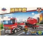 Gao Bo Le 98212 Fire Engine 6+ 398PCS