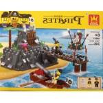 Wange 30041 Pirates Taboo Island 248PCS
