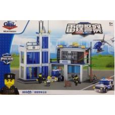 Gao Bo Le 98301 Thunder Police 869PCS
