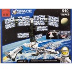 Enlighten 510 Space Series International Space Station 176PCS