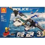Wange 51014 Police 3in1 174PCS