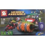 Sy 317 Heroes Assemble 305PCS