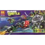 Bela 10263 Ninja Turtle 285PCS