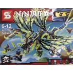 Sy 523 Ninjago Thunder Swordsman 747PCS
