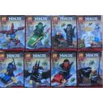 Lele 79261 Ninja Building Blocks Series