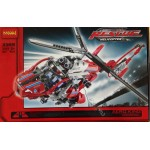 Decool 3355 Rescue Helicopter 407PCS