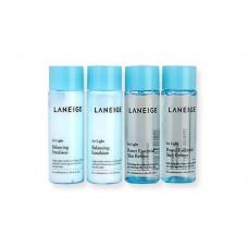 Laneige Power Essential Skin Refiner & Balancing Emulsion For Light Set 4 Items 25ml