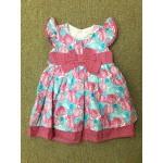 Nannette ชุดกระโปรงเด็กผู้หญิง สีชมพู สำหรับ 3-6 เดือน