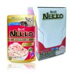 Nekko รสทูน่าหน้าปูอัด ในเจลลี่ 70 g ต่อซอง จำนวน 12 ซอง