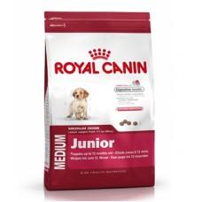 Royal Canin Medium Junior ชนิดเม็ด สำหรับลูกสุนัข พันธุ์ขนาดกลาง 15 kg