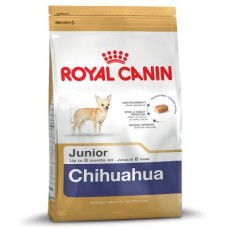 Royal Canin Chihuahua Junior ชนิดเม็ด สำหรับลูกสุนัขพันธุ์ชิวาวา ช่วงหย่านม - 8 เดือน 1.5 kg