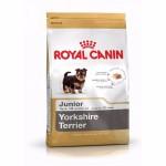 Royal Canin Yorkshire Terrier Junior ชนิดเม็ด สำหรับลูกสุนัขพันธุ์ยอร์คไชร์เทอร์เรีย ช่วงหย่านม - 10 เดือน 1.5 kg