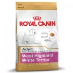 Royal Canin West Highland White Terrier Adult ชนิดเม็ด สำหรับสุนัขพันธุ์เวสต์ไฮแลนด์ ไวท์เทอร์เรีย 1.5 kg