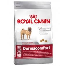 Royal Canin Medium Dermacomfort ชนิดเม็ด สำหรับสุนัขโต พันธุ์ขนาดกลาง ที่แพ้ง่าย 3 kg