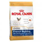 Royal Canin French Bulldog Junior ชนิดเม็ด สำหรับลูกสุนัขพันธุ์เฟรนซ์บูลด๊อก 10 kg