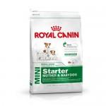 Royal Canin Mini Starter Mother & Babydog ชนิดเม็ด สำหรับแม่สุนัขตั้งครรภ์ถึงหย่านมลูกและลูกสุนัขแรกเกิด 1 kg