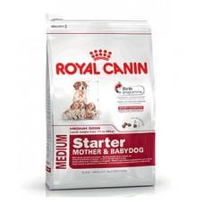 Royal Canin Medium Starter mother & baby dog ชนิดเม็ด สำหรับแม่สุนัขตั้งครรภ์ถึงหย่านมและลูกสุนัขแรกเกิด 1 kg