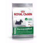 Royal Canin Mini Dermacomfort ชนิดเม็ด สำหรับสุนัขโต พันธุ์เล็กที่ผิวระคายเคืองและคันง่าย 4 kg