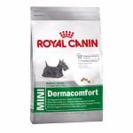 Royal Canin Mini Dermacomfort ชนิดเม็ด สำหรับสุนัขโต พันธุ์เล็กที่ผิวระคายเคืองและคันง่าย  2 kg