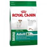 Royal Canin Mini Adult 8+ ชนิดเม็ด สำหรับสุนัขอายุ 8 ปีขึ้นไป 8 kg