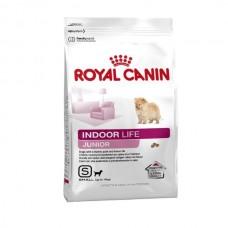 Royal Canin Mini INDOOR LIFE Junior ชนิดเม็ด สำหรับลูกสุนัขพันธุ์เล็กที่เลี้ยงในบ้าน เดือน 500 กรัม