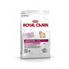 Royal Canin Mini INDOOR LIFE Junior ชนิดเม็ด สำหรับลูกสุนัขพันธุ์เล็กที่เลี้ยงในบ้าน 3 kg