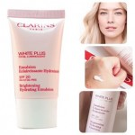 Clarins White Plus Total Hydrating Emulsion SPF20PA+++/Oil Free 15ml