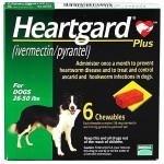 Heartgard Plus ยาถ่ายพยาธิหัวใจ สำหรับสุนัขน้ำหนัก 12-22 กก.