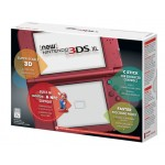 3DS: NEW NINTENDO XL CONSOLE RED