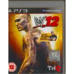 PS3:  WWE 12