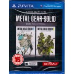 PSVITA: Metal Gear Solid  HD Collection (Z3) (EN)