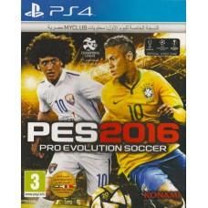 PS4: PES 2016 Pro Evolution Soccer (Z2)(EN)