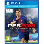 PS4: PRO EVOLUTION SOCCER 2018 PREMIUM EDITION (R2)(EN)